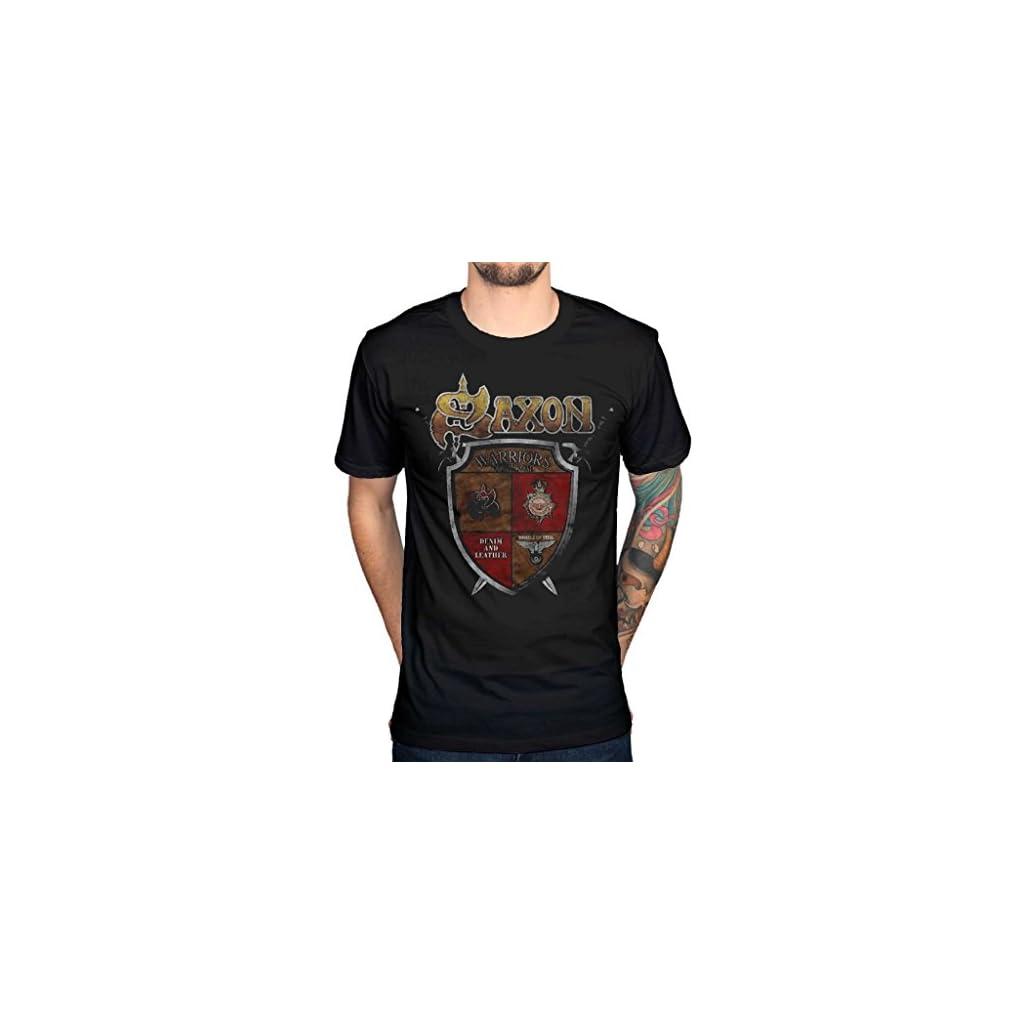 Saxon Camiseta