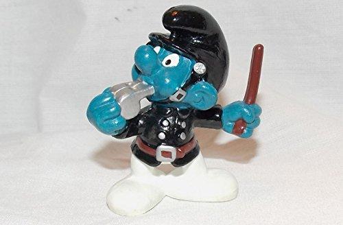 (1981 Vintage Smurf Policeman 2