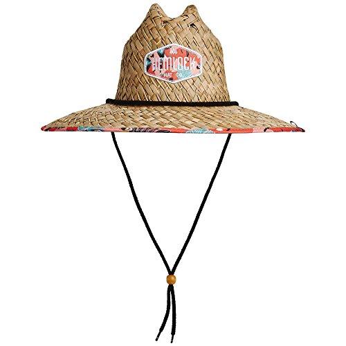 Hemlock Hat Co. Men's Tropicana Straw Hat