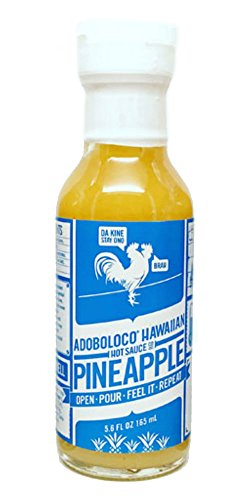 - Adoboloco Hawaiian Pineapple Hot Sauce 5oz
