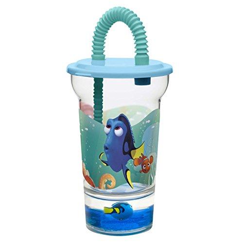 Zak Designs Finding Dory 12 oz. Plastic Tumbler, Dory & -