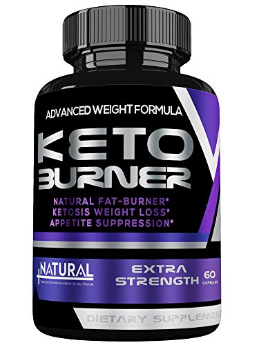 Best Keto Diet Pills – Fat Burner – Keto Diet Pills From Shark Tank, Ketosis Supplement for Women and Men– Boosts Energy & Metabolism, Burns Fat Fast- Keto Weight Loss Supplements – Keto Burn – 60 Cap