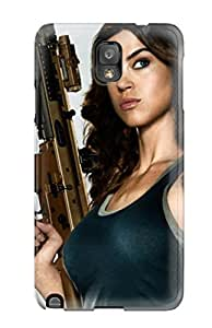 New Style CaseyKBrown Hard Case Cover For Galaxy Note 3- Adrianne Palicki In G.i. Joe 2