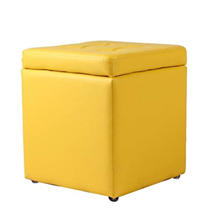 Amazoncom Hmeigui Small Ottomans Storage Ottoman Cube Foot Stools