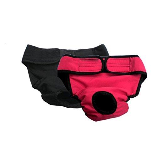 My Dog Underwear   2 Pcs Comfortable Unisex Pet Diaper Sanitary Pants   Size L (19.7