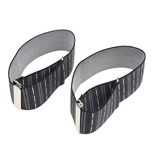 Fityle Men's Non Slip Elastic Shirt Garter Belt Sleeves Holder Arm Garter Band - Stripes, as described by Fityle (Image #6)