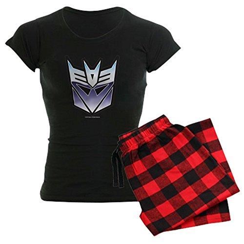 CafePress Transformers Decepticon Symb Womens Novelty Cotton Pajama Set, Comfortable PJ Sleepwear ()