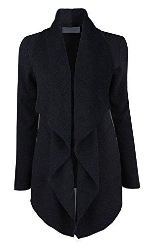 Gamery-Womens-Drape-Open-Front-Waterfall-Wrap-Trench-Coat-Jacket