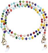 humlbird Glasses Chain for Women Sunglasses Chain Mask Lanyard Eyewear Retainer Beaded Mask Chain