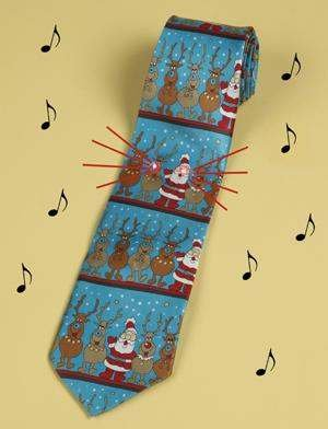 Christmas Tie.Amazon Com Novelty Musical Light Up Christmas Tie