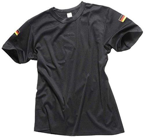 Bundeswehr Tropen T-Shirt Unterhemd khaki mit Hoheitsabzeichen Farbe Schwarz Größe 8