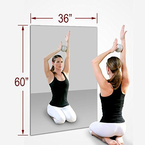 TroySys 36''x60'' MiraSafe Single Gym Mirror Kit by TroySys