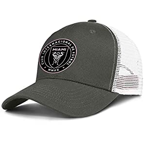 TYYIN Football Logo Trucker Hats for Men Wome...