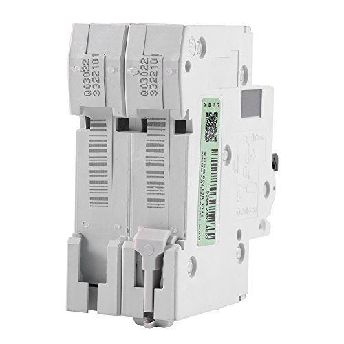 2P 250V Low-voltage DC Miniature Circuit Breaker For Solar Panels Grid System din rail mount(63A) by Walfront (Image #5)