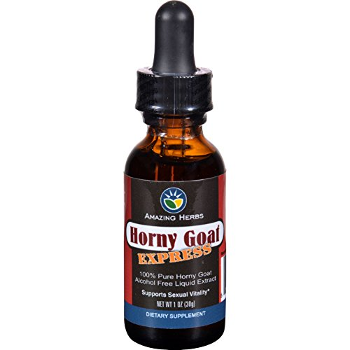 Express Alcohol - Black Seed Liquid Extract - Horny Goat Express - Alcohol Free - 1 oz (Pack of 2)