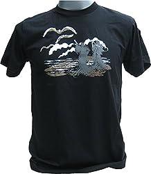 RaanPahMuang Death Angel Hunting Season for Grim Reapers Rocky T-Shirt, X-Large, Black