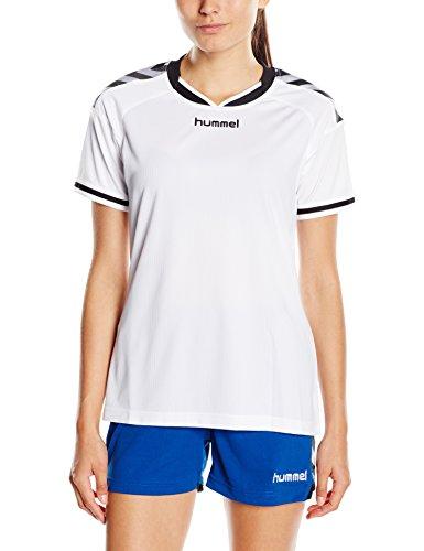 Hummel Damen Shirt Stay Authentic Poly Jersey, white, M, 03-546-9001