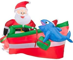 Amazon Com Christmas Decoration Lawn Yard Inflatable Santa