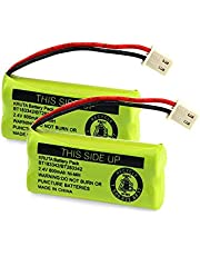 KRUTA Replacement Battery BT162342 / BT262342 BT166342/BT266342 BT183342/BT283342 Compatible for Vtech AT&T Cordless Telephones CS6114 CS6419 CS6719 EL52300 CL80111(Pack of 2)
