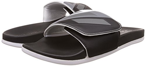 adidas adilette CF ultra ADJ - Chanclas para Hombre, Negro - (NEGBAS/HIEMET/FTWBLA) 43 1/3