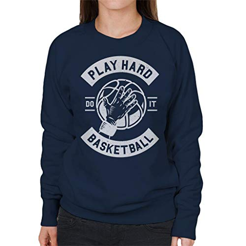 Play Women's Basketball Hard Coto7 Navy Sweatshirt Blue Odtq4gnS