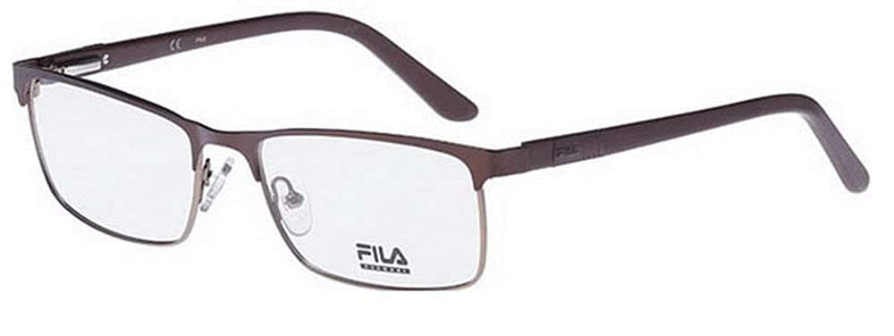 Fila Glasses Men VF9652 0C30 semi-matt bronze Full Frame