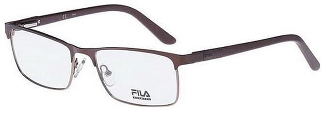 859799704f1 Fila Glasses Men VF9652 0C30 semi-matt bronze Full Frame  Amazon.co.uk   Clothing