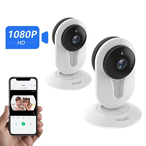 1080P Security Camera,Safevant Indoor Wireless IP Camera Security Surveillance System with Night Vision for Home/Office/Baby/Pet Monitor with iOS, Android App - Cloud Service Available by SAFEVANT
