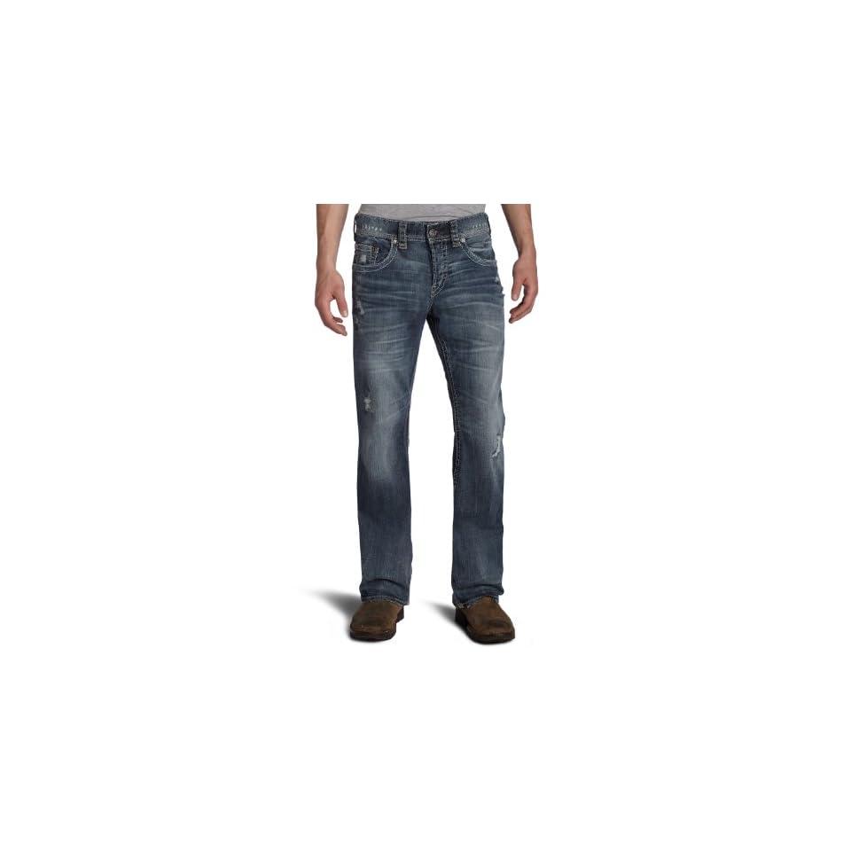 1921 Jeans Mens Neil Pocket Boot Cut Jean,Indigo,40