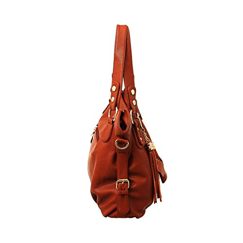 Synthetic Faux Brown ZENTEII Leather Women Faux Synthetic ZENTEII Handbag Women dXfzwd