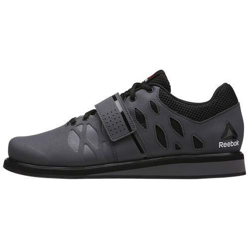 Reebok Men's Lifter Pr Cross-Trainer Shoe, Ash Grey/Black/White, 7 M US by Reebok (Image #9)