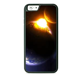 Case Fun Case Fun Earth and Comet TPU Rubber Back Case Cover for Apple iPhone 6 4.7 inch