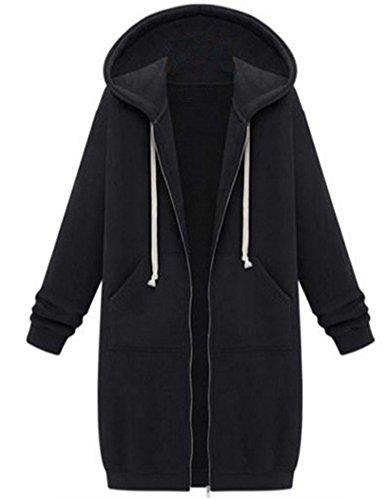 Zip Hoodie Dress - 3