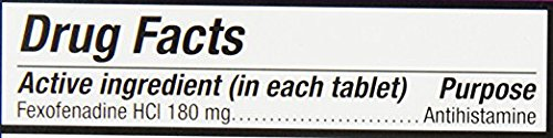 Allegra Adult 24 Hour Allergy Tablets, 180Mg, 70 Count- (Pack of 2) by Allegra (Image #3)