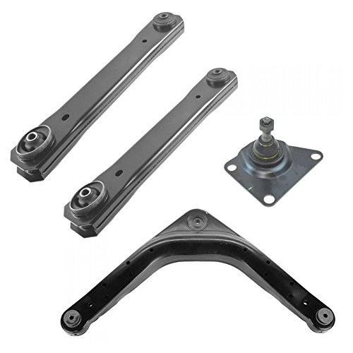 Rear Upper Lower Control Arm Ball Joint Kit Set of 4 for Grand Cherokee (Rear Lower Ball Joint)