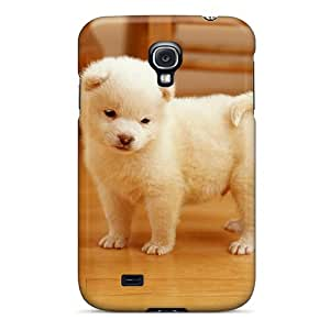 Durable Protector Case Cover With Cutest Puppy Hot Design For Galaxy S4