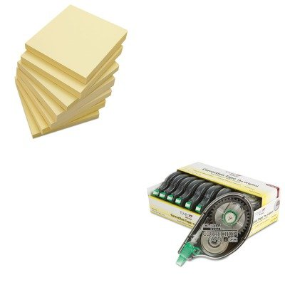KITTOM68720UNV35668 - Value Kit - Tombow MONO Correction Tape (TOM68720) and Universal Standard Self-Stick Notes (UNV35668)
