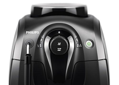 Philips Serie 2000 HD8651/01 - Cafetera Súper Automática, 2 Bebidas de Café, Pannarello Incorporado, Molinillo Ceramico