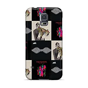 InesWeldon Samsung Galaxy S5 Best Hard Phone Cases Unique Design High Resolution Foo Fighters Band Skin [llh10875pHpj]