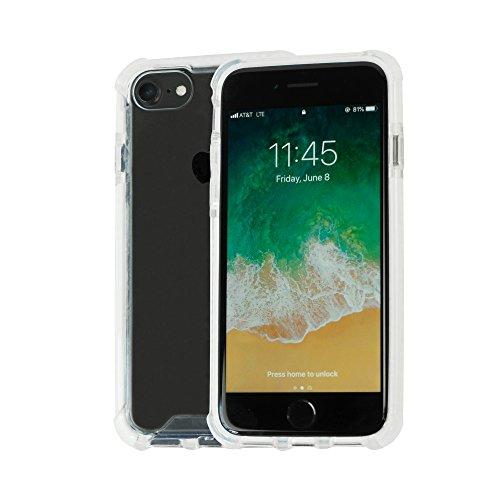 Idea Promo Clear Case Compatible for iPhone 6 | 6s | 7 | 7s | 8, Clear Case, Shock-Absorption and Anti Scratch, Slim, Heavy Duty Protective, Reinforced Conner and Rubber - Art Photo Promo