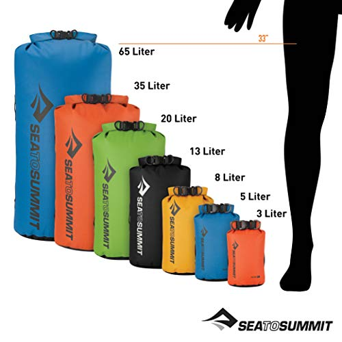 Sea to Summit Big River Dry Bag,Yellow,20-Liter