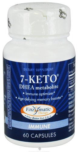 Enzymatic Therapy - 7 KETO3 DHEA 60 caps