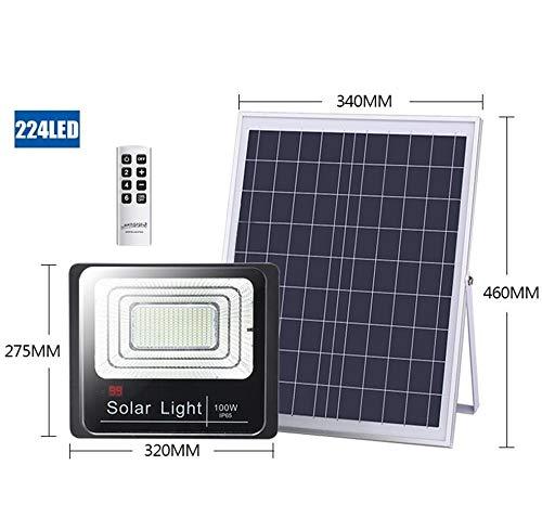 Q-fo Proyector Solar al Aire Libre, luz de Seguridad Solar a ...