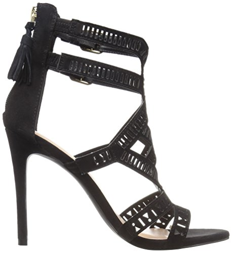 Women's Dress Black Call Sandal Eduwen Spring It nubuck pSSwxqEA