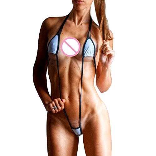 High Costumes Swimming Cut (SHERRYLO Exotic Slingshot Micro Monokini Bikini Swimming)