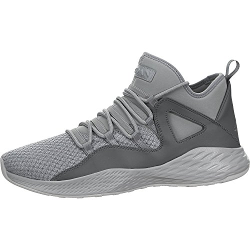 Mens Jordan Formula 23 Basketball Shoe Cool Grey/Cool Grey-Wolf Grey 12