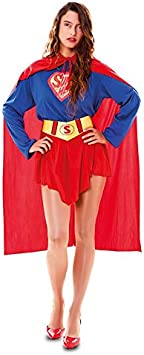 DISBACANAL Disfraz superheroína Sexy para Mujer - -, M: Amazon ...