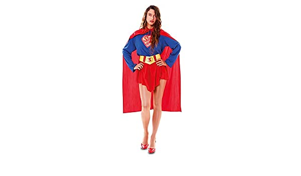 DISBACANAL Disfraz superheroína Sexy para Mujer - -, M: Amazon.es ...