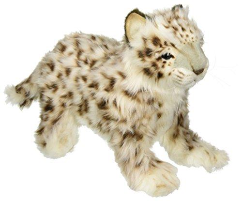 Snow Leopard Cub - Hansa Laying Snow Leopard Plush