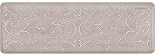 product image for WellnessMats Estates Collection Anti-Fatigue 6 x 2 Foot Kitchen Mat, Sand Dollar